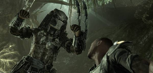 Screenshot from Rebellion's upcoming Aliens vs. Predator
