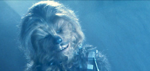 "Chewbacca in ""Return of the Jedi"""
