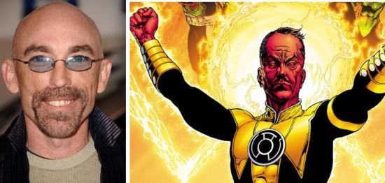 Jackie Earle Haley and Sinestro
