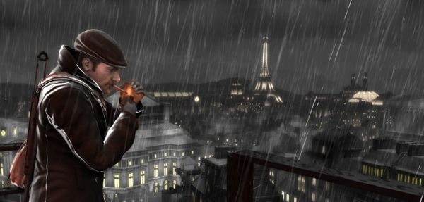 A screenshot from Pandemic's The Saboteur