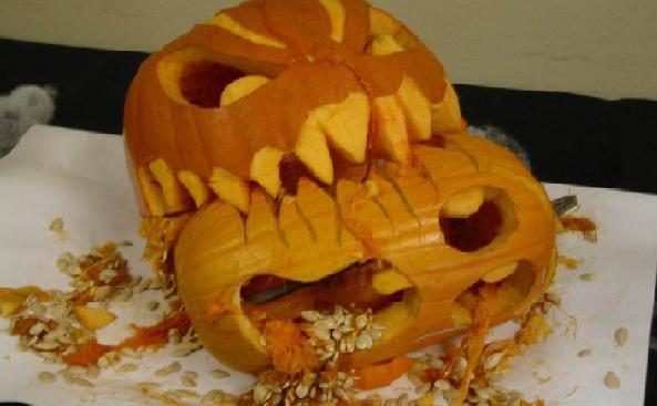 Cannibal Pumpkins!