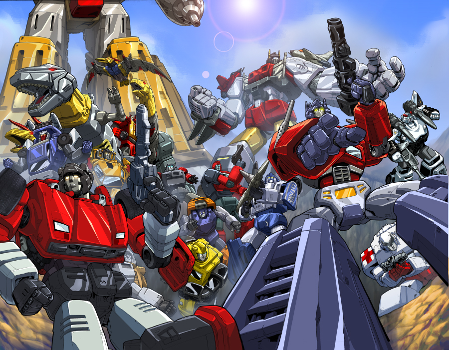 Transformers: The Autobots as they appeared in Dreamwave Comics