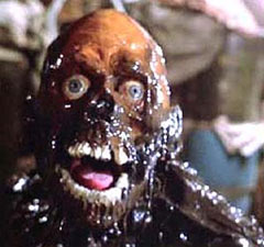 Tar Man zombie from Return of the Living Dead