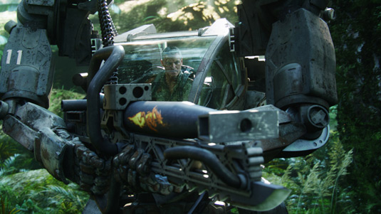 Colonel Quaritch in James Cameron's Avatar