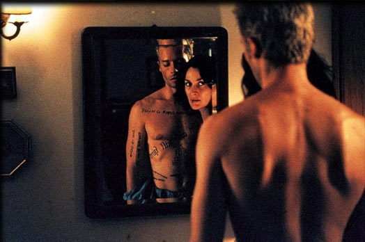Memento , directed by Christopher Nolan, 2000