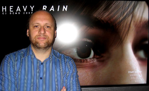 David Cage: Self-hating game designer
