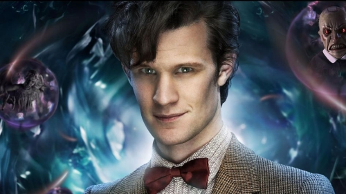 Matt Smith as the new Doctor Who
