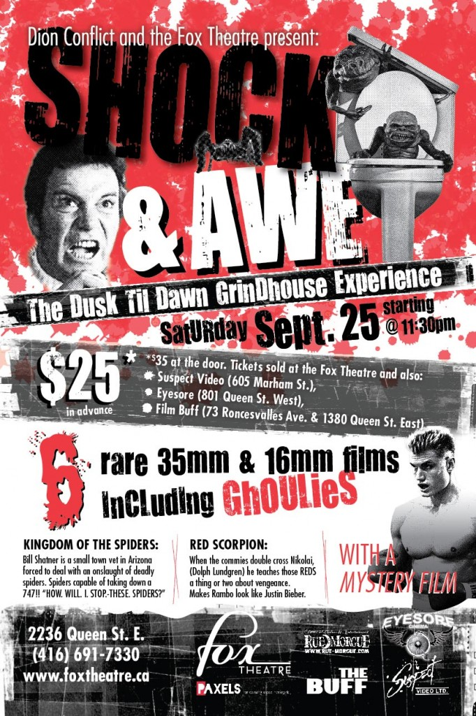 Shock and Awe: The Dusk 'Til Dawn Grindhouse Experience