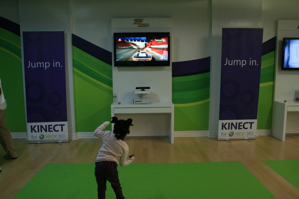 The Toronto Xbox Kinect Experience