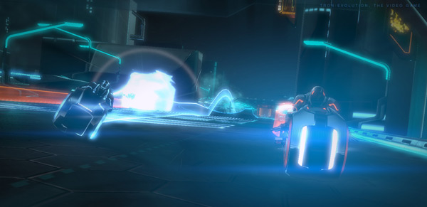 TRON: Evolution - Light Cycles