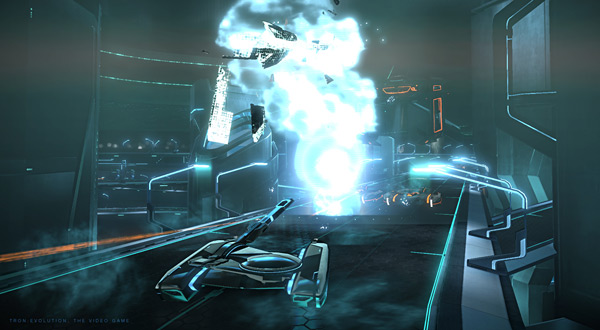 TRON: Evolution - Light Tank