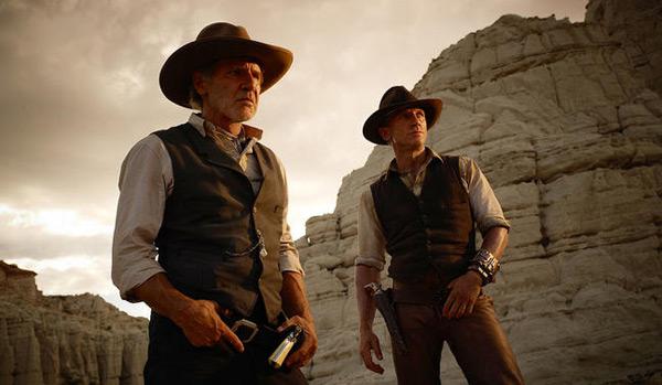 Cowboys & Aliens - Harrison Ford and Daniel Craig