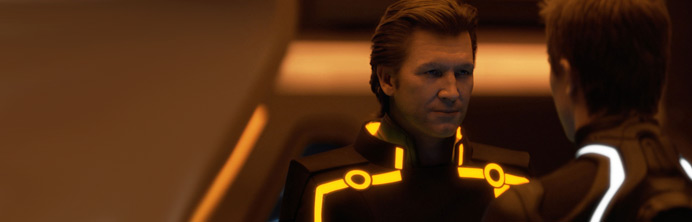 TRON: Legacy - Jeff Bridges as CLU