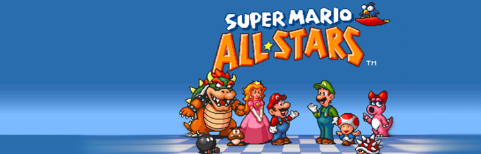 Super Mario All-Stars Wii - Featured