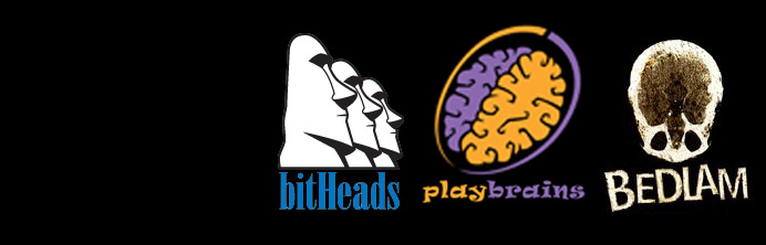 bitheads playbrains bedlam games - Ascension CrossMedia Inc.