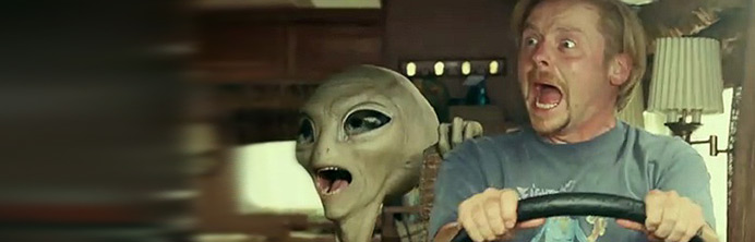 Paul - Seth Rogen & Simon Pegg - Featured