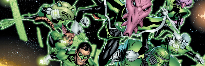 Green Lantern #64 - Featured