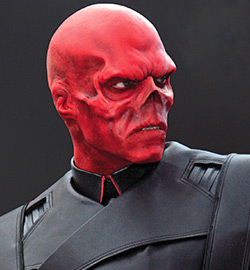 Hugo Weaving as The Red Skull - Captain America: The First Avenger