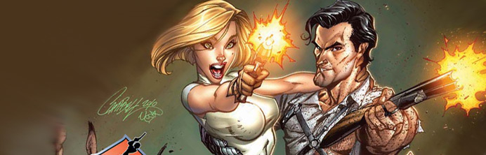 Danger Girl and the Army of Darkness #1 - Featured