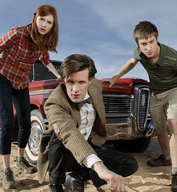 Doctor Who - Karen Gillan & Matt Smith
