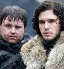 Game of Thrones - John Bradley & Kit Harington