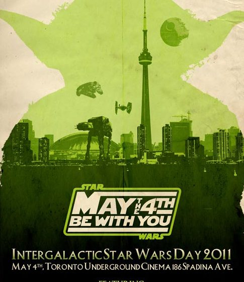 Star Wars Day Toronto Poster