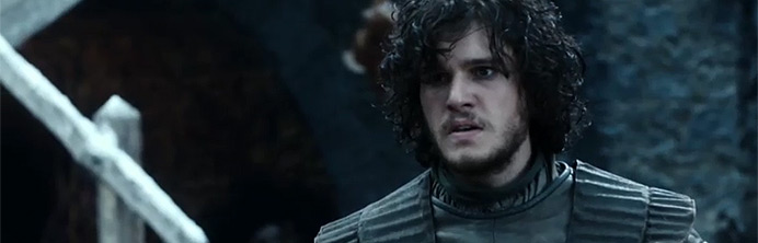 Game of Thrones - Jon Snow - Featured