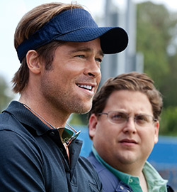 Moneyball - Brad Pitt Jonah Hill