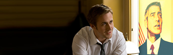 The Ides of March - Ryan Gosling George Clooney - Featured