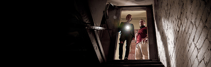 The Innkeepers - Sara Paxton and Pat Healy - Featured