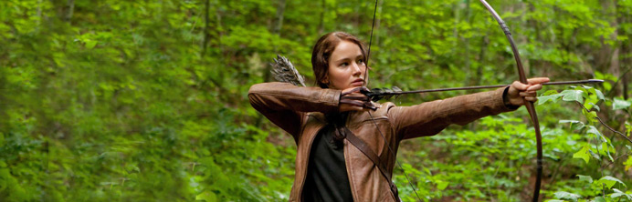 The Hunger Games - Jennifer Lawrence - Featured