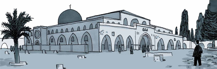 Jerusalem: Chronicles from the Holy City - Guy Delilse - Featured