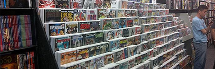 Paradise Comics - Featured