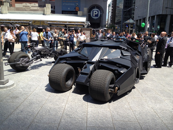 The Dark Knight Rises - Tumbler in Toronto