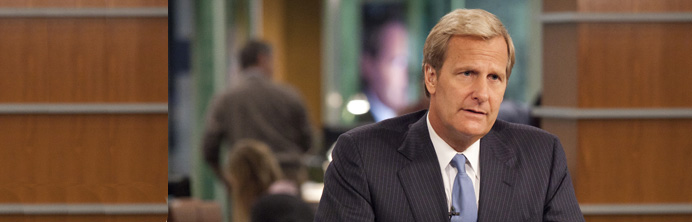 The Newsroom - Jeff Daniels - Featured