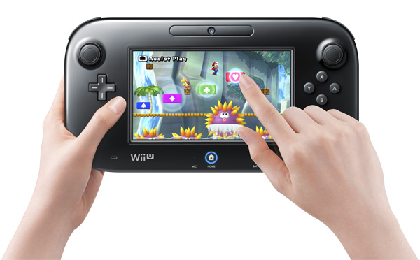 Wii U Tablet on Mario Bros U