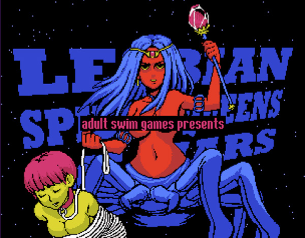 Lesbian Spider Queens of Mars