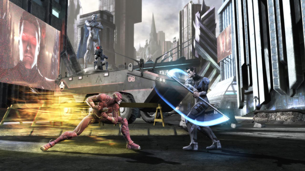 Injustice - Flash Nightwing