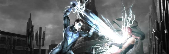 Injustice - Harley Nightwing banner