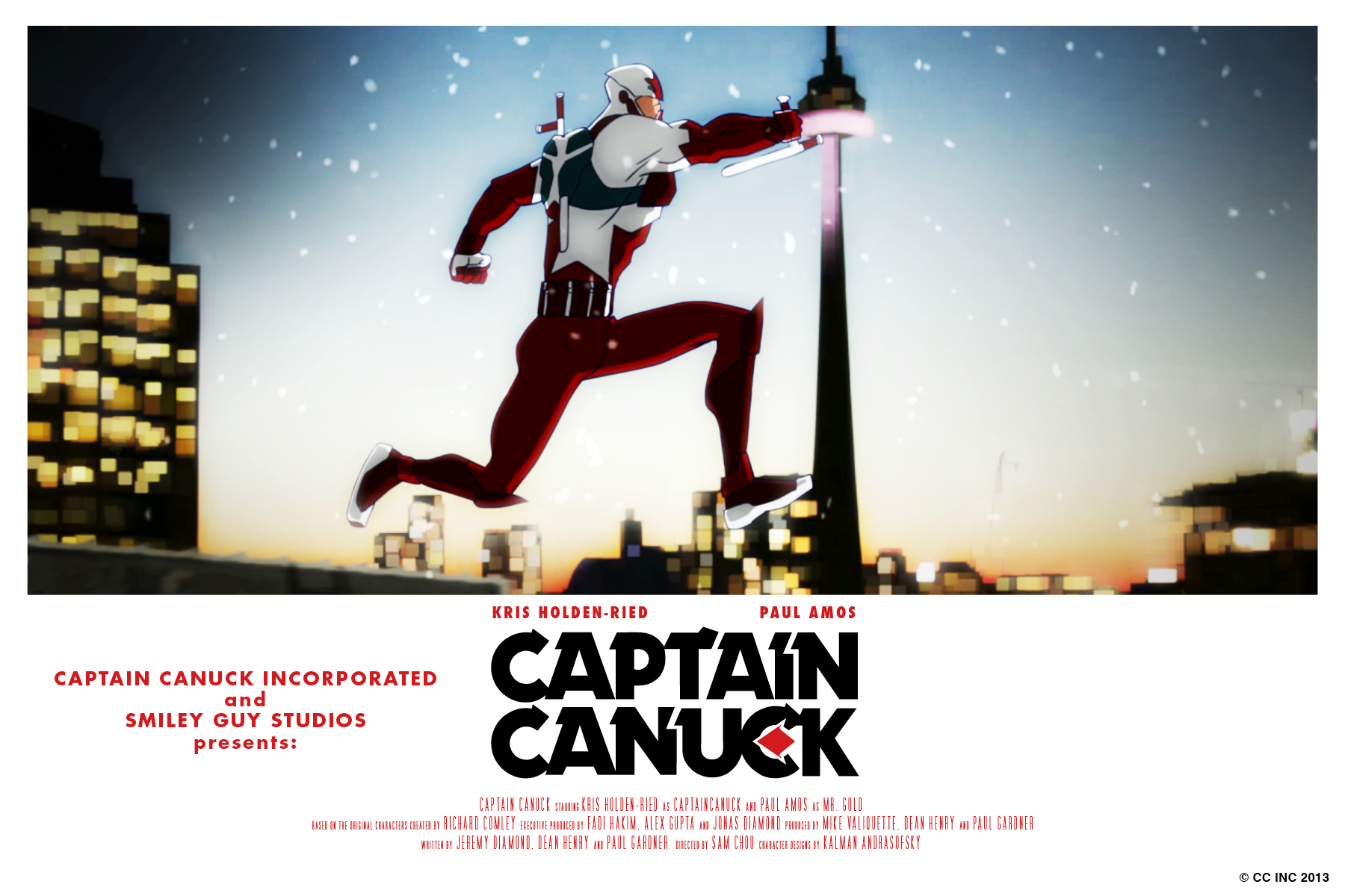 Captain Canuck Wallpaper Captain Canuck Postcard