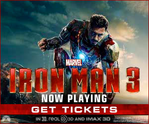Iron Man 3 in theatres May 3