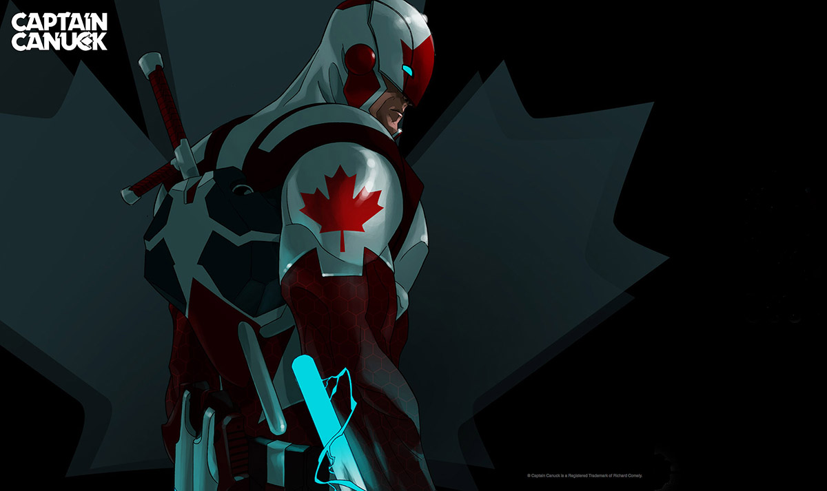Captain Canuck Wallpaper Captain Canuck by Kalman