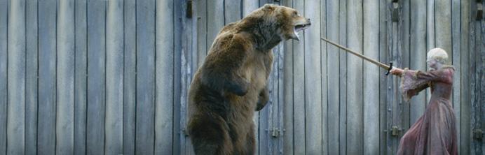 Game of Thrones - Season 3 - Brienne vs Bart the Bear