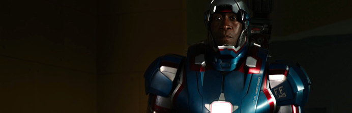 Iron Man 3 - Don Cheadle - Featured