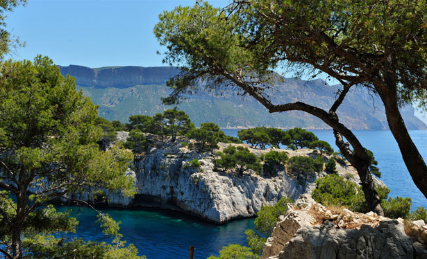 Calanques near Cassis, similar to Greek Calanques
