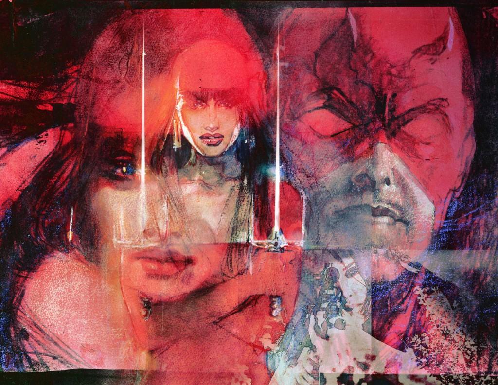 Daredevil: End of Days Interior by Bill Sienkiewicz