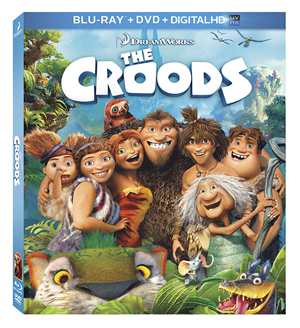 Croods - Blu-Ray Box Art