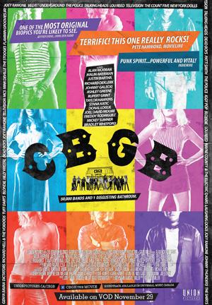 CBGB One Sheet