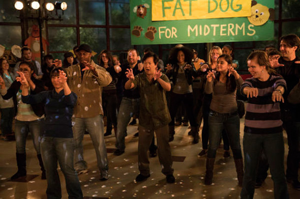 Community - Season 5 Episode 6 - Analysis of Cork-Based Networking - Chang Fat Dog Dance