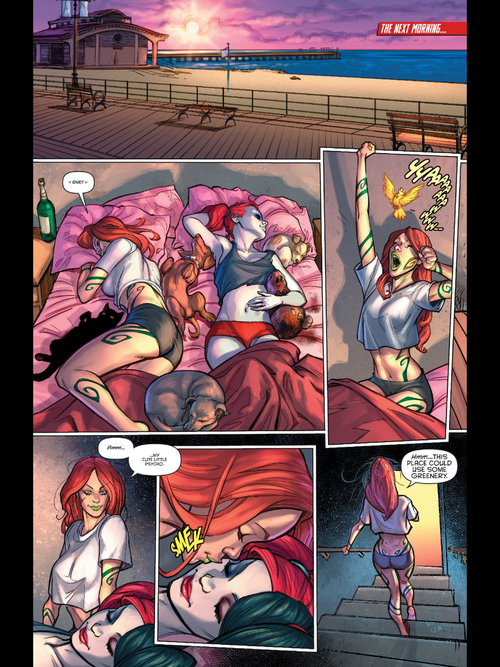 harley and ivy relationship marketing